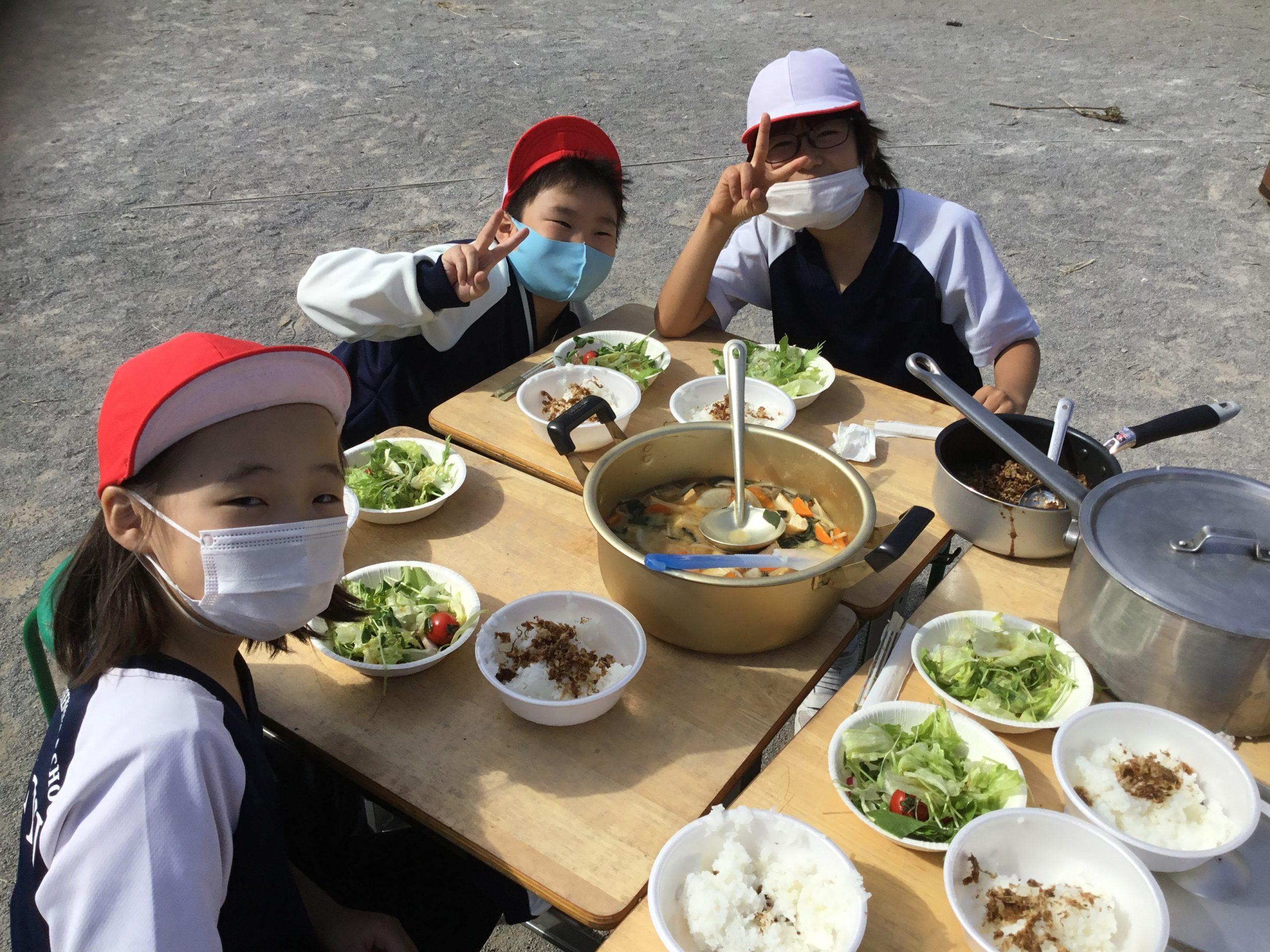 3年生 野外活動「収穫祭」