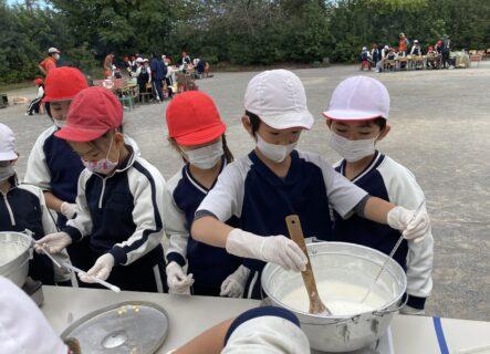 3年生「食の探究」野外活動